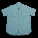 men's attire short sleeve tricut pocket shirt large