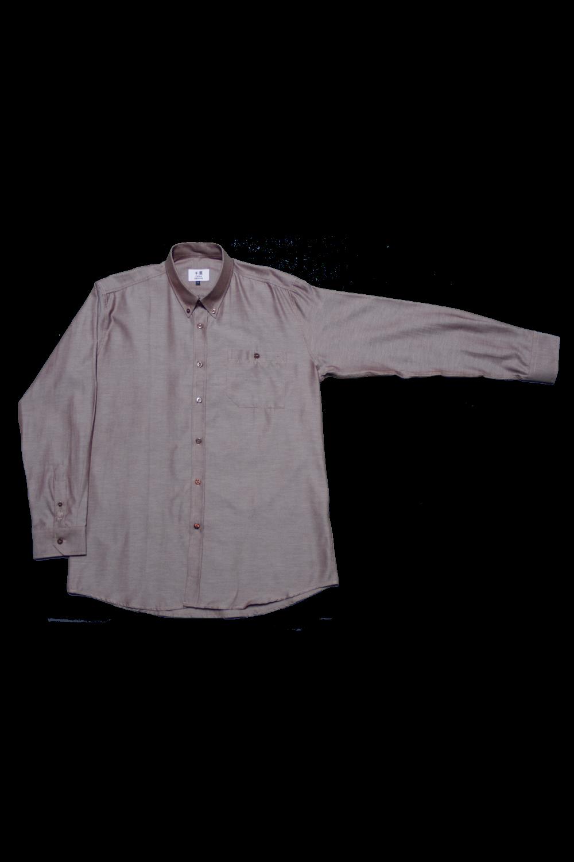 men's attire long sleeve oxford dress shirt large